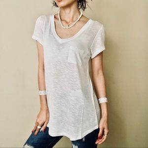 Brand New vince white top no offer